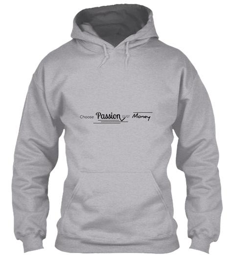 Shop Customized Insta Tees Sport Grey T-Shirt Front