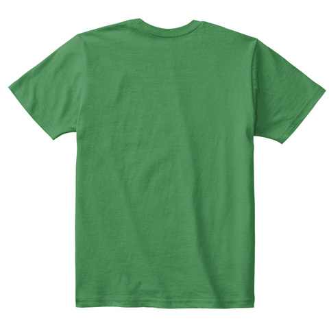 Elf Abet Children's T Shirt Kelly Green  T-Shirt Back