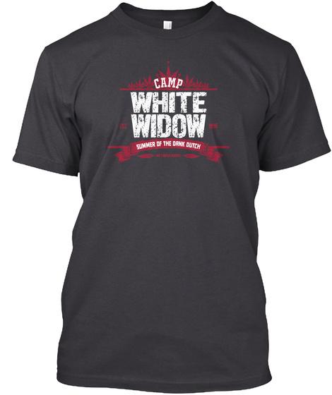 Camp White Widow Summer Of The Dank Dutch Charcoal Black T-Shirt Front