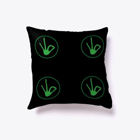 J Green Pillow Black T-Shirt Front