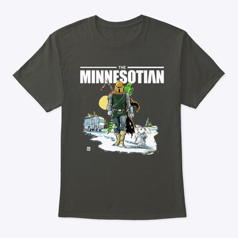 Minnesotian Smoke Gray T-Shirt Front