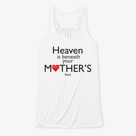4umum Tank Top White T-Shirt Front