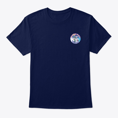 2020 New York Int'l Air Show T Shirt 2 Navy T-Shirt Front