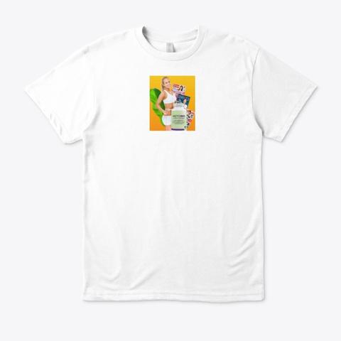 Keto Slim Md  White T-Shirt Front