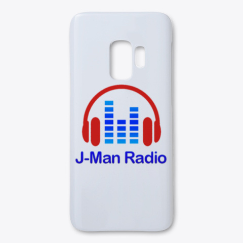 J Man Radio Samsung Phone Case White T-Shirt Front