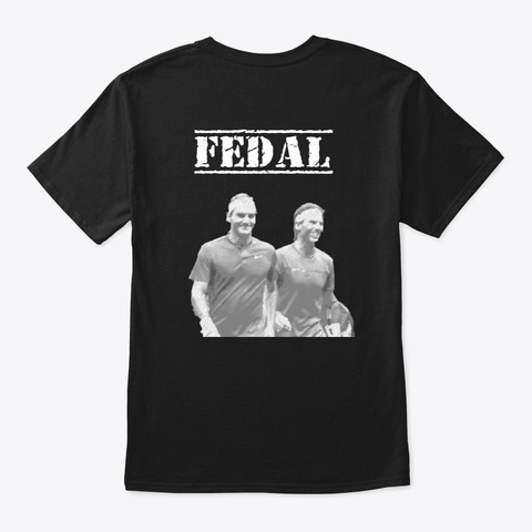 Fedal Black T-Shirt Back