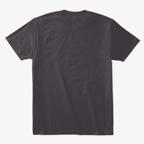 Cashless Bankless Heathered Charcoal  T-Shirt Back