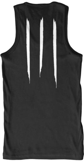 Promotion Premium Tank Black T-Shirt Back