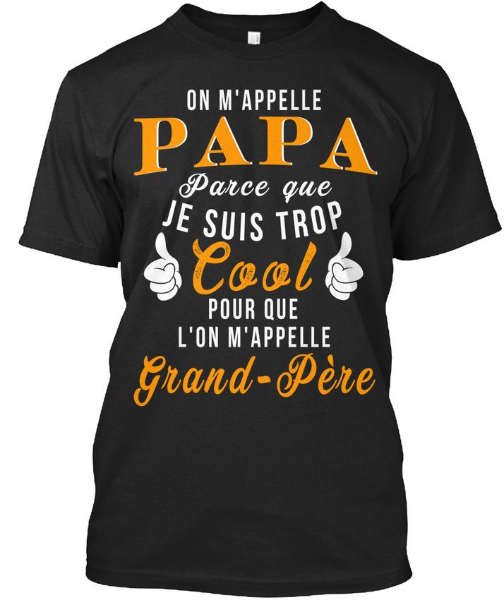 Papa-Cool-3-D-Stylisches-T-Shirt
