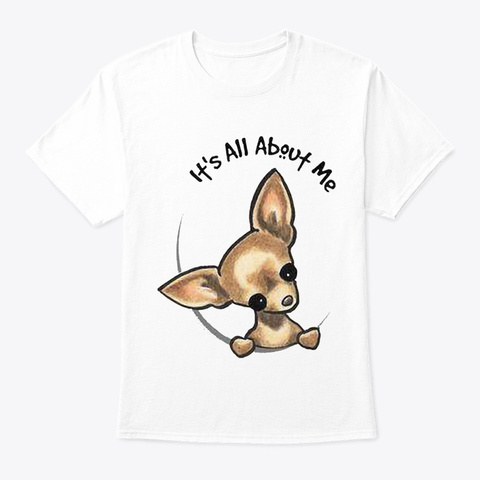 Chihuahua 4 White T-Shirt Front