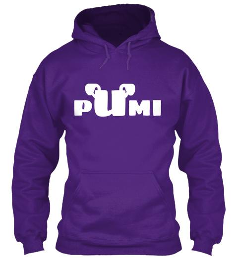 Pumi Purple T-Shirt Front