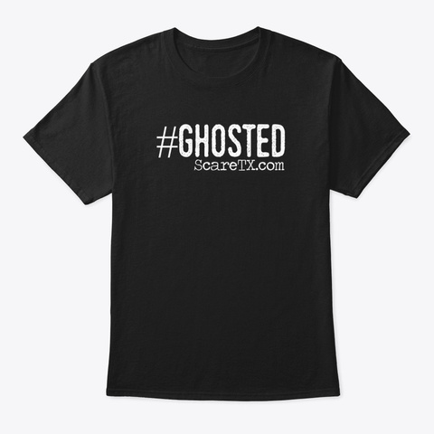 Ghosted Graphic Tee Black T-Shirt Front