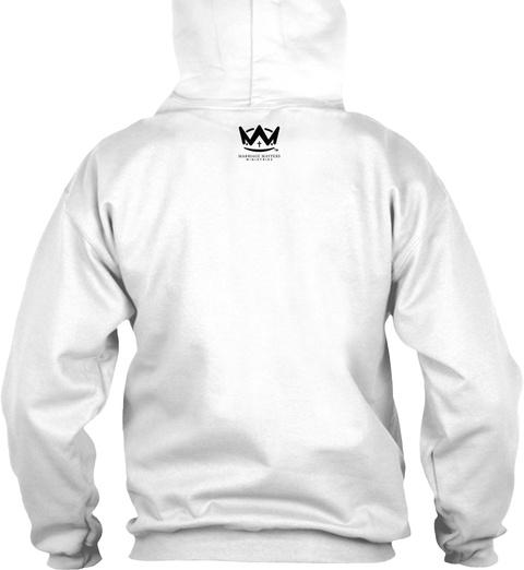 W White T-Shirt Back