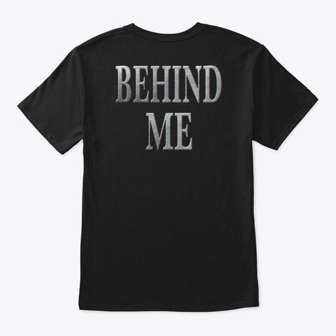 Run Power Behind Me Black T-Shirt Back
