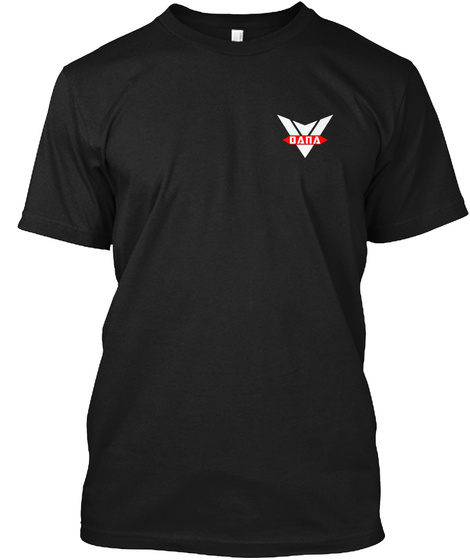 Dana Black T-Shirt Front