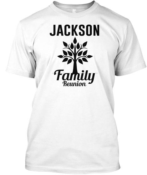 Jackson Family Reunion White T-Shirt Front