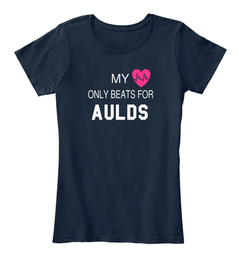 My Only Beats For Aulds New Navy T-Shirt Front
