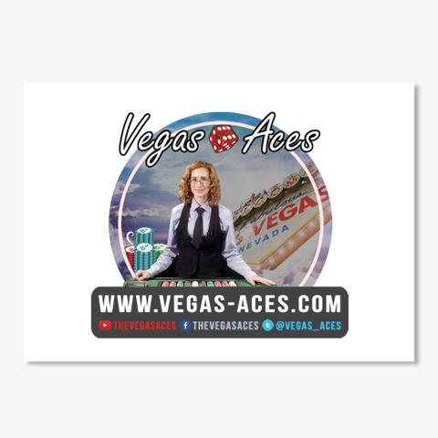 Vegas Aces Original  White T-Shirt Front
