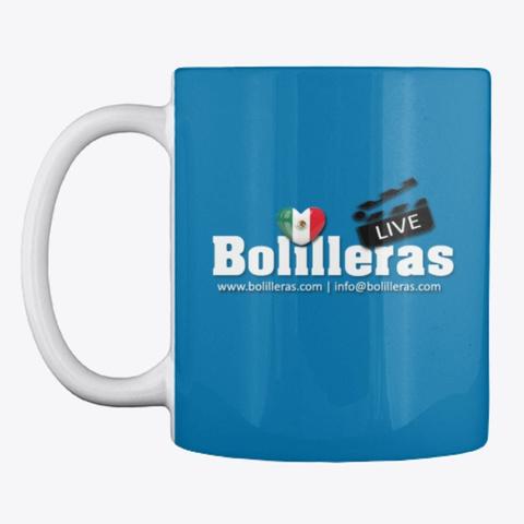 Bolilleras Live Royal Blue T-Shirt Front