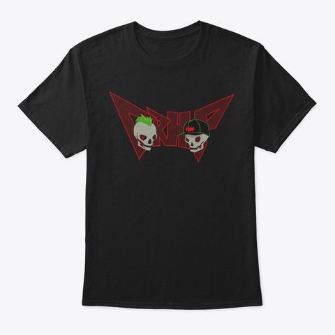 Official Prhp Shirt Black T-Shirt Front