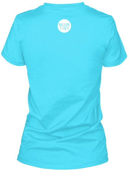 Travel Job Tahiti Blue  T-Shirt Back