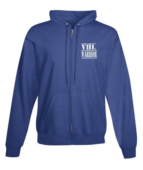 Vhl Warrior Royal T-Shirt Front