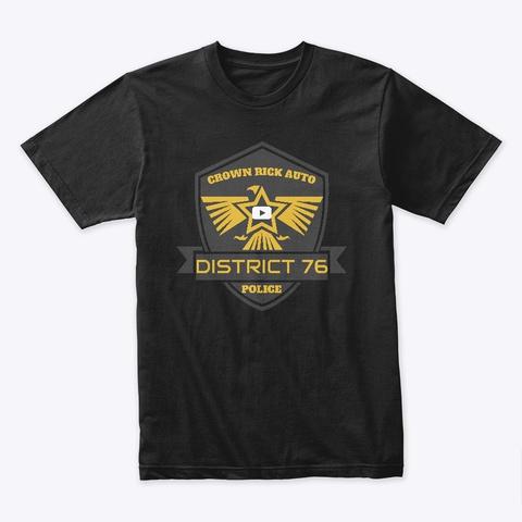 Crown Rick Auto Logo Black T-Shirt Front