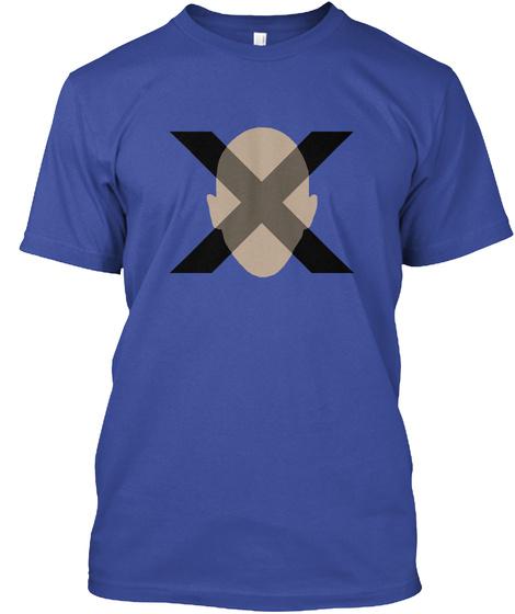 X Deep Royal T-Shirt Front