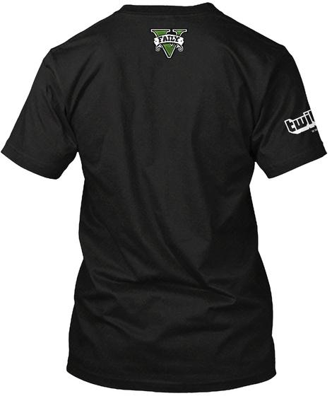 Twi  Faily Black T-Shirt Back