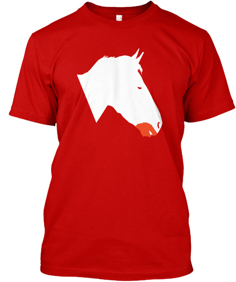 Shadow Frax Classic Red T-Shirt Front