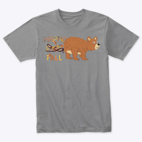 Happy Fart/Fall Premium Heather T-Shirt Front