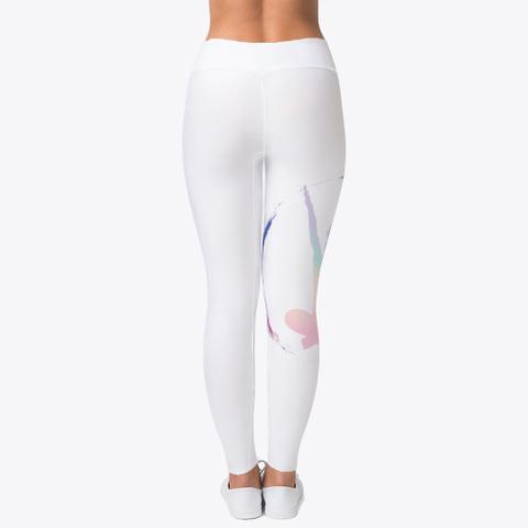 Yoga Is Lyfe   Sitting Y Pose  Standard T-Shirt Back