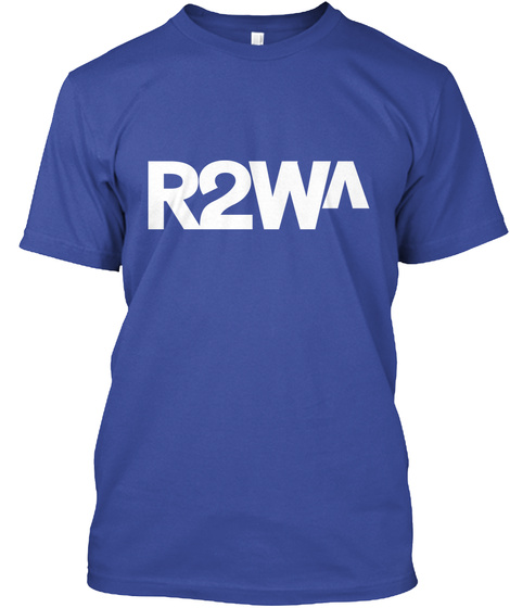 Ready To Wake Up Deep Royal T-Shirt Front