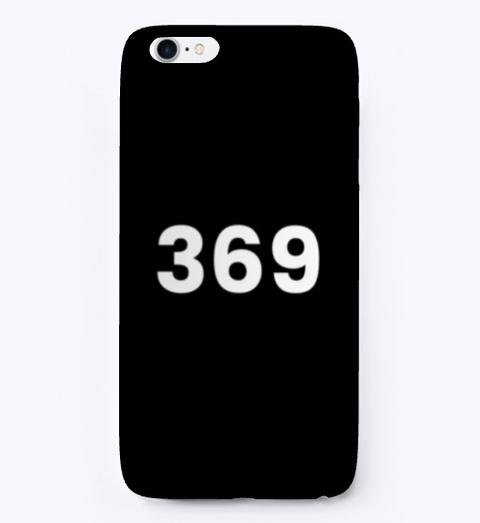 I Phone Case: 369 Black T-Shirt Front