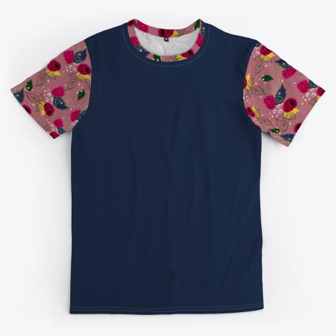 Raspberry Pattern Standard T-Shirt Front
