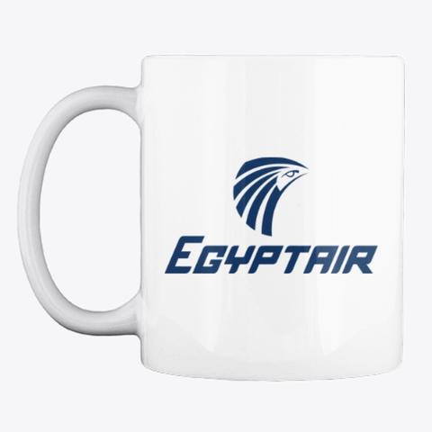 Egypt Air   Mug White T-Shirt Front