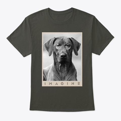 Ridgeback Imagine Smoke Gray T-Shirt Front