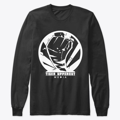 Tiger Squad White Black T-Shirt Front