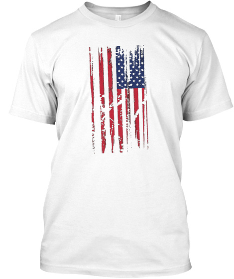The Great American Tee White T-Shirt Front
