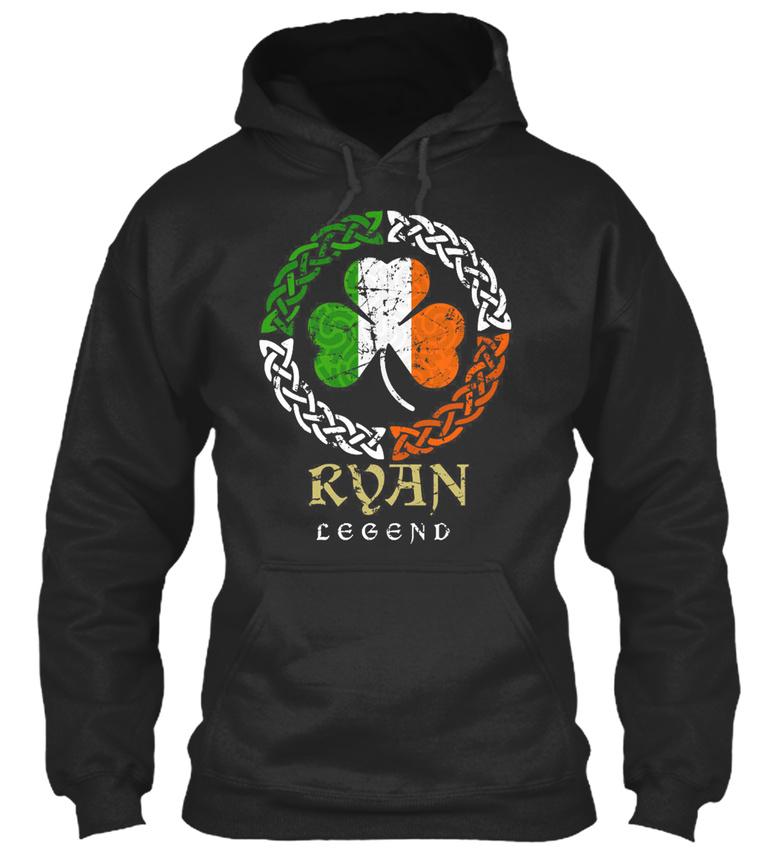 Ryan-Irish-Legend-Bequemer-Kapuzenpullover