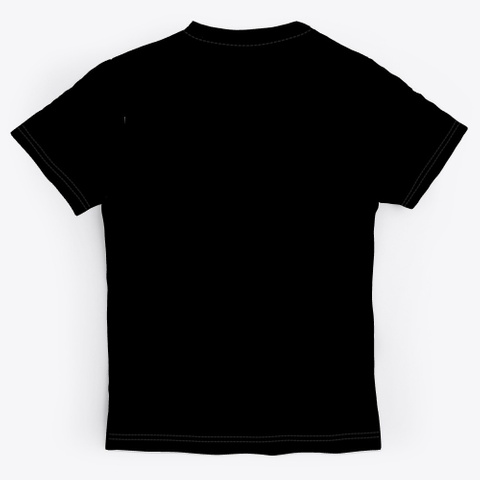 Vpd Memorial Design Black T-Shirt Back