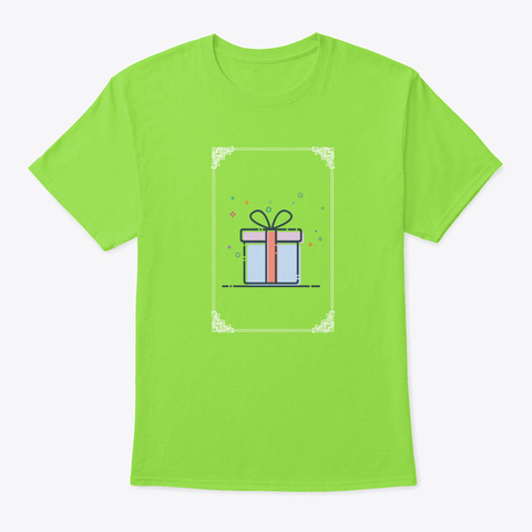 Christmas Gift Awesome Gift Idea For Ch Lime T-Shirt Front
