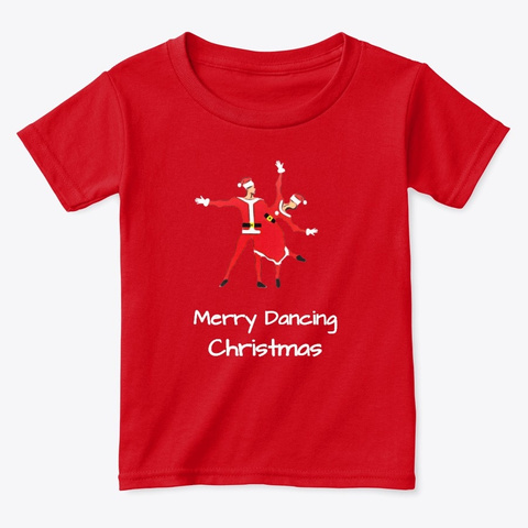 Merry Dancing Christmas  Duet Red  T-Shirt Front