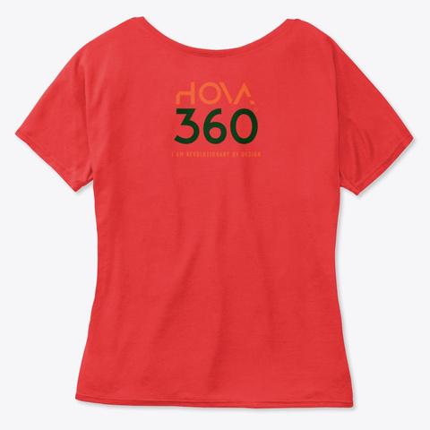 Genesis   Kandake Red Red T-Shirt Back