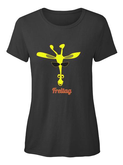 Freitag Black Damen T-Shirt Front
