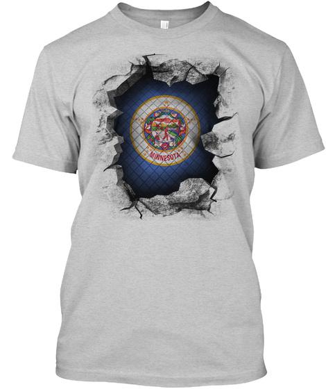 Minnesota Light Steel T-Shirt Front