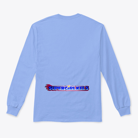 Ultimate Kirby Tee Light Blue T-Shirt Back