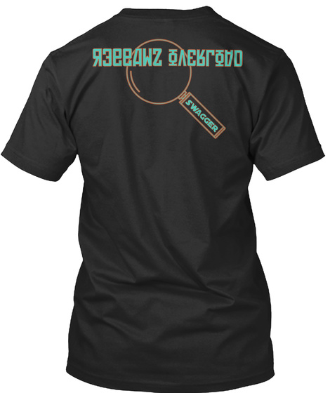 Overload Swagger Swagger  Black T-Shirt Back