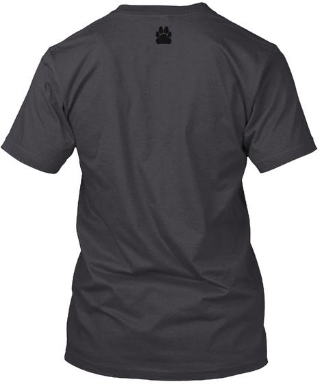 "Dreamcats ""Clothing"" Charcoal Black T-Shirt Back"