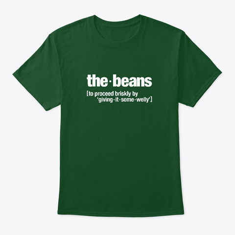 The Beans Deep Forest T-Shirt Front